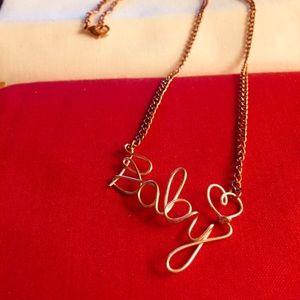 Jewelry - RESTOCKED ROSE GOLD CUSTOM VALENTINE NECKLACE!!!!